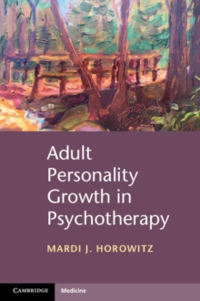 Adult Personality Growth in Psychotherapy, Paperback Book