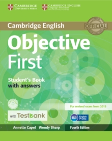 Objective First Student's Book with Answers with CD-ROM with Testbank, Mixed media product Book