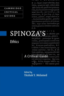 Spinoza's Ethics : A Critical Guide, Paperback / softback Book