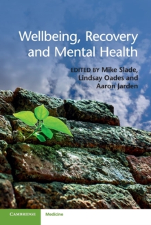 Wellbeing, Recovery and Mental Health, Paperback / softback Book