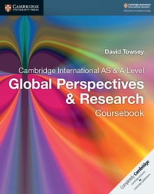 Cambridge International AS & A Level Global Perspectives & Research Coursebook, Paperback / softback Book
