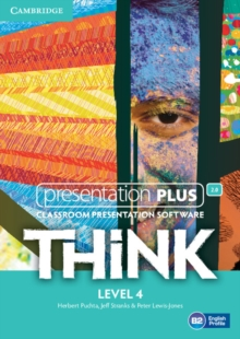 Think Level 4 Presentation Plus DVD-ROM, DVD-ROM Book