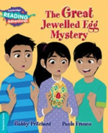 The Great Jewelled Egg Mystery Turquoise Band, Paperback Book