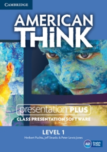 American Think Level 1 Presentation Plus DVD-ROM, DVD-ROM Book