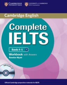 Complete IELTS Bands 4-5 Workbook with Answers with Audio CD, Mixed media product Book