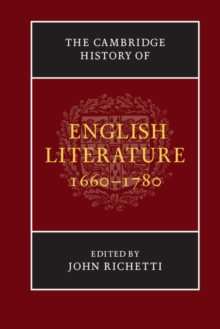 The New Cambridge History of English Literature : The Cambridge History of English Literature, 1660-1780, Paperback / softback Book