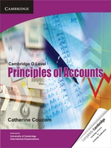 Cambridge O Level Principles of Accounts, Paperback Book