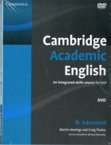 Cambridge Academic English C1 Advanced Class Audio CD and DVD Pack : An Integrated Skills Course for EAP, Mixed media product Book