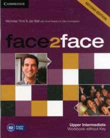 face2face Upper Intermediate Workbook without Key, Paperback / softback Book