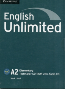 English Unlimited Elementary Testmaker CD-ROM and Audio CD : English Unlimited Elementary Testmaker CD-ROM and Audio CD A2 elementary, Mixed media product Book