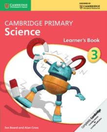 Cambridge Primary Science : Cambridge Primary Science Stage 3 Learner's Book, Paperback / softback Book