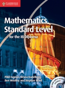 Mathematics for the IB Diploma Standard Level with CD-ROM, Mixed media product Book