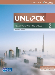 Unlock Level 2 Reading and Writing Skills Student's Book and Online Workbook, Mixed media product Book
