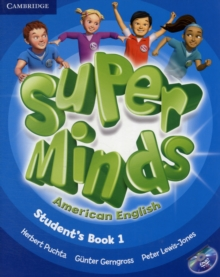 Super Minds American English Level 1 Student's Book with DVD-ROM, Mixed media product Book