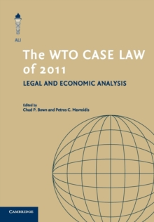 The WTO Case Law of 2011, Paperback / softback Book