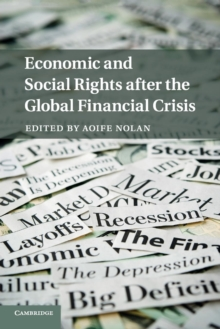 Economic and Social Rights after the Global Financial Crisis, Paperback / softback Book