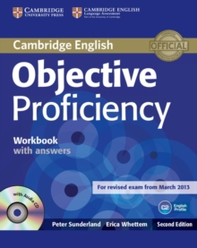 Objective Proficiency Workbook with Answers with Audio CD, Mixed media product Book