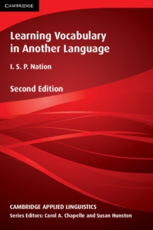 Learning Vocabulary in Another Language, Paperback / softback Book