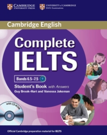 Complete IELTS Bands 6.5-7.5 Student's Book with Answers with CD-ROM, Mixed media product Book