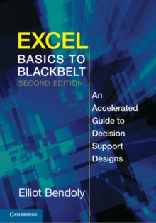 Excel Basics to Blackbelt : An Accelerated Guide to Decision Support Designs, Paperback / softback Book
