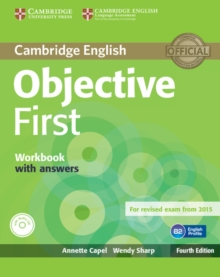 Objective First Workbook with Answers with Audio CD, Mixed media product Book
