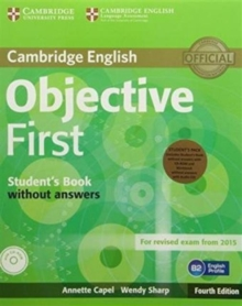 Objective First Student's Pack (Student's Book without Answers with CD-ROM, Workbook without Answers with Audio CD), Mixed media product Book