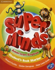 Super Minds American English Starter Student's Book with DVD-ROM, Mixed media product Book