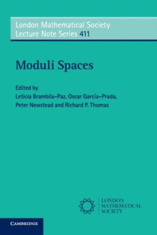 Moduli Spaces, Paperback / softback Book