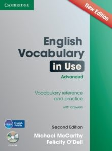 English Vocabulary in Use Advanced with CD-ROM : Vocabulary Reference and Practice, Mixed media product Book
