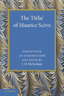 The 'Delie', Paperback / softback Book