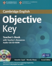 Objective Key Teacher's Book with Teacher's Resources Audio CD/CD-ROM, Mixed media product Book