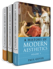 A History of Modern Aesthetics 3 Volume Set, Hardback Book