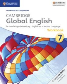 Cambridge Global English Stage 7 Workbook, Paperback Book