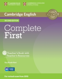 Complete : Complete First Teacher's Book with Teacher's Resources CD-ROM, Mixed media product Book
