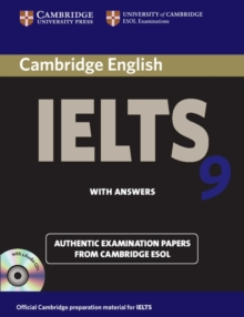 Cambridge IELTS 9 Self-study Pack (student's Book with Answers and Audio CDs (2)) : Authentic Examination Papers from Cambridge ESOL, Mixed media product Book