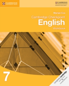 Cambridge Checkpoint English Workbook 7, Paperback / softback Book