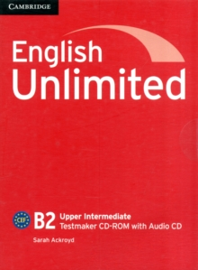 English Unlimited Upper Intermediate Testmaker CD-ROM and Audio CD, Mixed media product Book