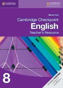 Cambridge Checkpoint English Teacher's Resource 8, CD-ROM Book
