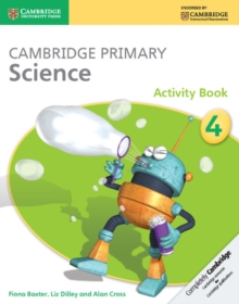 Cambridge Primary Science Stage 4 Activity Book, Paperback Book