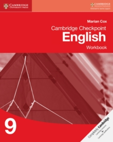 Cambridge Checkpoint English Workbook 9, Paperback Book