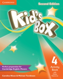 Kid's Box Level 4 Activity Book with Online Resources, Mixed media product Book