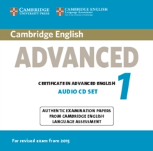 CAE Practice Tests : Cambridge English Advanced 1 for Revised Exam from 2015 Audio CDs (2): Authentic Examination Papers from Cambridge English Language Assessment, CD-Audio Book
