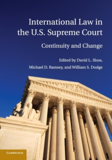 International Law in the U.S. Supreme Court, Paperback Book