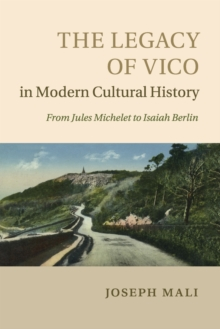 The Legacy of Vico in Modern Cultural History, Paperback / softback Book