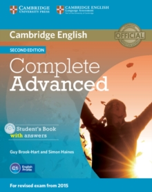 Complete : Complete Advanced Student's Book with Answers with CD-ROM, Mixed media product Book