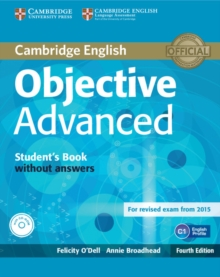 Objective Advanced Student's Book without Answers with CD-ROM, Mixed media product Book