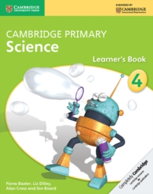 Cambridge Primary Science : Cambridge Primary Science Stage 4 Learner's Book, Paperback / softback Book