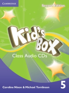 Kid's Box Level 5 Class Audio CDs (3), CD-Audio Book