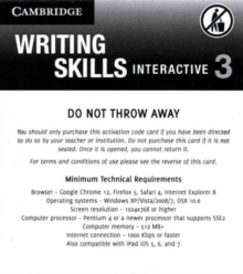 Grammar and Beyond Level 3 Writing Skills Interactive (Standalone for Students) via Activation Code Card, Digital product license key Book