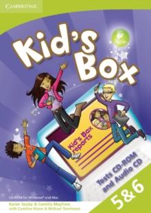 Kid's Box Levels 5-6 Tests CD-ROM and Audio CD, Mixed media product Book